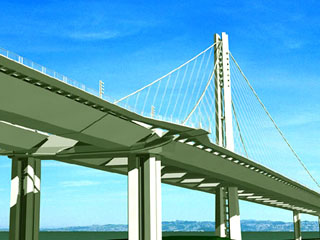 802bc441f7319 The San Francisco-Oakland Bay Bridge East Span Seismic Safety Project is a  replacement bridge for the existing east bay spans. The Self-Anchored  Suspension ...