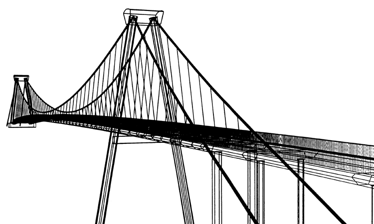 Opac Bi Tan Suspension Bridge