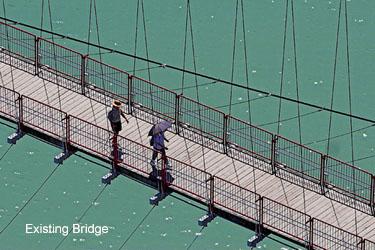 OPAC - Bi-Tan Suspension Bridge